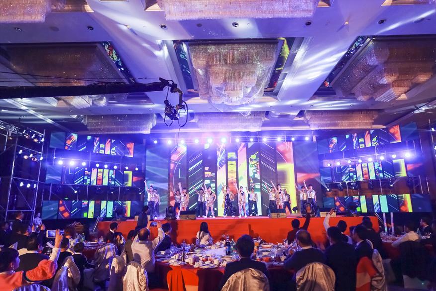 上海合力叉车年会策划